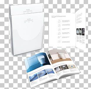 Brochure Open Catalogue Text PNG