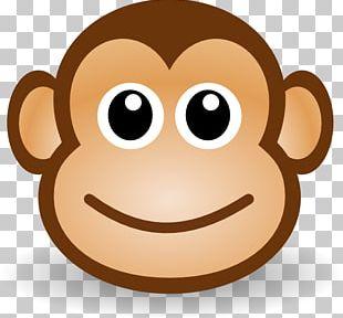 Chimpanzee Ape Monkey Cartoon PNG