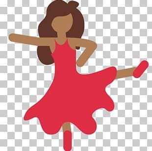 Dancing Emoji Dance Flamenco Emojipedia PNG