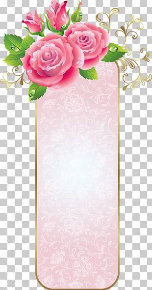 Border Frame Flower Arranging PNG