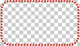 Candy Cane Christmas Frames PNG