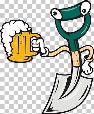Beer Glassware Cartoon PNG