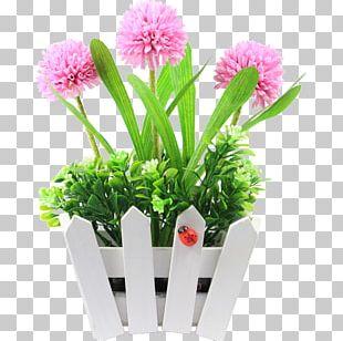 Floral Design Artificial Flower Cut Flowers Flowerpot PNG