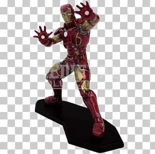 Iron Man Figurine Character Marvel Comics Metal PNG