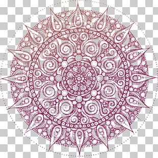 Coloring Book Mandala Adult Meditation PNG