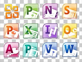 Microsoft Office 2010 Computer Software PNG