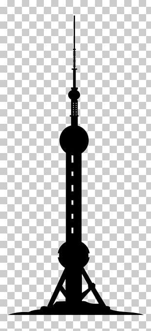 Oriental Pearl Tower Shanghai Tower Burj Khalifa Drawing PNG