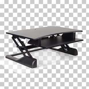 Sit-stand Desk Standing Desk Cubicle PNG