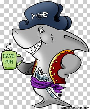 Pirate Copyright Illustration Beach PNG