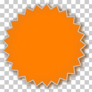 Starburst Orange County PNG