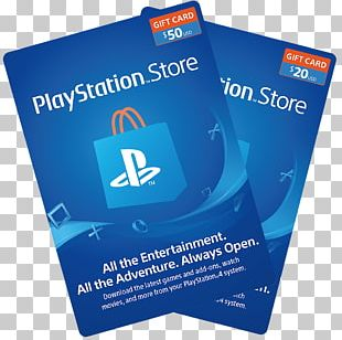 PlayStation 4 PlayStation Network Card Gift Card PNG