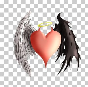 Devil Angel Heart Demon Tattoo PNG