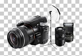 Digital SLR Camera Lens Sony Alpha 55 Mirrorless Interchangeable-lens Camera Single-lens Reflex Camera PNG
