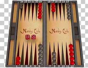 Nard Backgammon Draughts Tables Game PNG