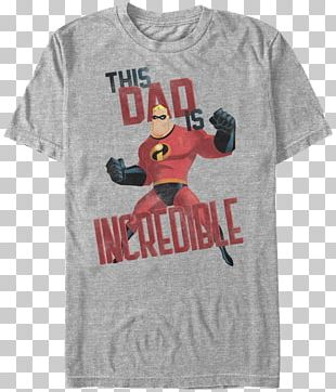 T-shirt The Incredibles Mr. Incredible Father Jack-Jack Parr PNG