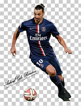 LA Galaxy Paris Saint-Germain F.C. Football Player Jersey PNG