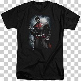 T-shirt Superman Top Sleeveless Shirt Comic Book PNG