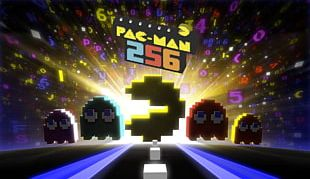 Pac-Man 256 Crossy Road Frogger Video Game PNG
