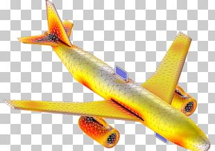 Airplane COMSOL Multiphysics Simulation Aerials PNG