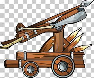 Ballista Catapult PNG