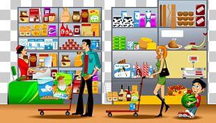 Supermarket Illustration PNG