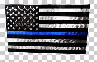 Thin Blue Line Decal Sticker United States Of America Police PNG