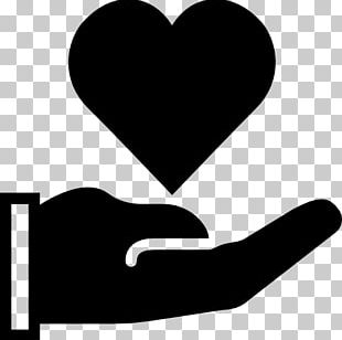 Computer Icons Heart In Hand PNG