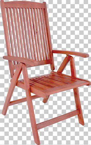 Garden Furniture Deckchair PNG