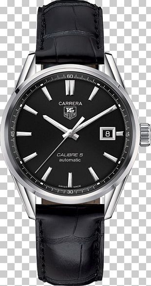 TAG Heuer Carrera Calibre 5 Automatic Watch TAG Heuer Monaco PNG