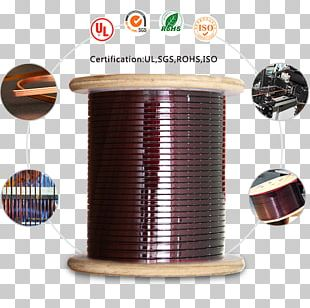 Magnet Wire Copper Conductor Electrical Cable PNG