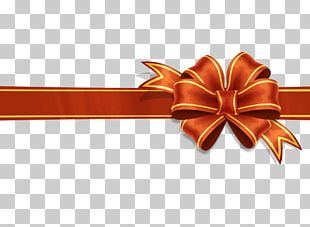 Paper Ribbon Gift Wrapping PNG