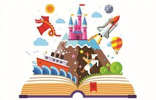 Imagination Book PNG