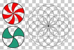 Torus Circle Sacred Geometry Vesica Piscis PNG