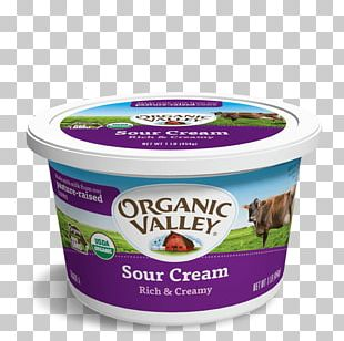 Cream Organic Food Milk Cottage Cheese Organic Valley PNG