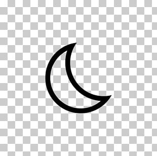 Crescent Lunar Phase Solar Eclipse Outline Of The Moon PNG