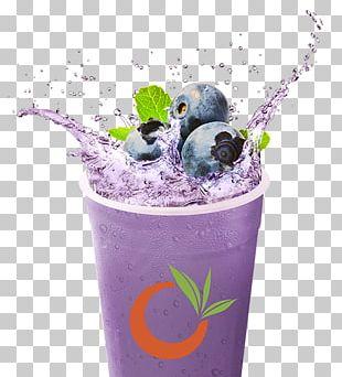 Bubble Tea Blueberry Tea Juice Health Shake PNG
