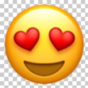 Emoji Domain Love Heart Sticker PNG