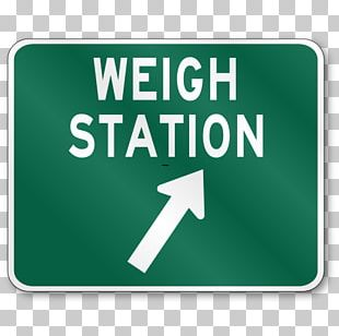 Weigh Station Traffic Sign Truck Driver Manual On Uniform Traffic Control Devices Road PNG