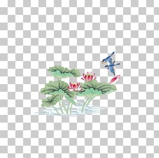 China Bird-and-flower Painting Chinese Painting Gongbi PNG