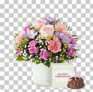 Rose Flower Bouquet Blume Birthday Cut Flowers PNG