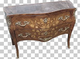Chest Of Drawers Louis Quinze Commode Furniture PNG