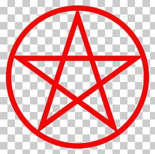 Triple Goddess Wicca Pentacle Horned God Symbol PNG