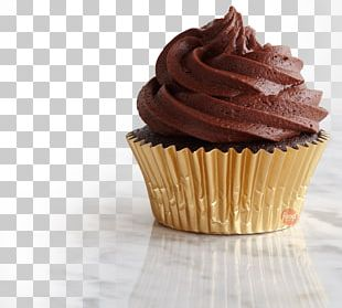 Cupcake Chocolate Cake Frosting & Icing Muffin Ganache PNG