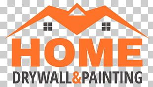 Logo Drywall Painting House PNG