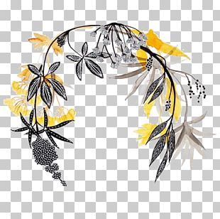 Wreath Flower Illustrator Garland Illustration PNG