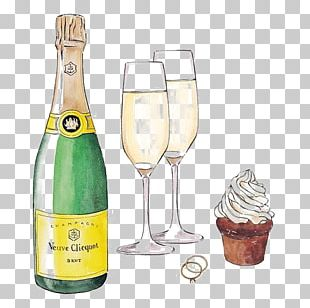Champagne Glass White Wine PNG