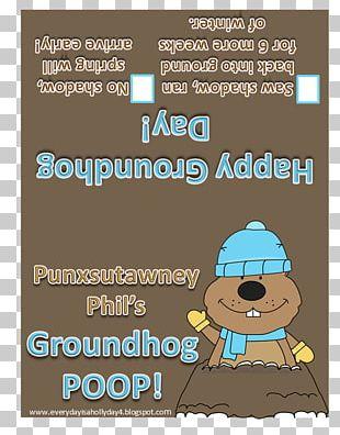 Punxsutawney Christmas Groundhog Day Child Caganer PNG