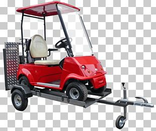Golf Buggies Car Trailer Electric Vehicle PNG