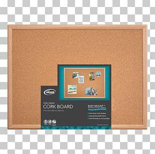 Bulletin Board Cork Drawing Pin Wood コルクボード PNG