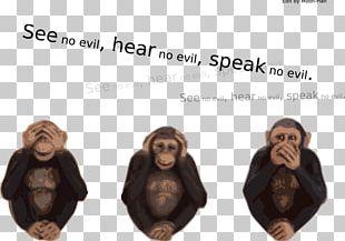 Three Wise Monkeys Evil PNG